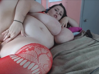 BBW Gets Asshole Pounded W/Fuck Machine