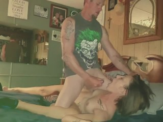 Hot amateur couple 69 position,wife gets mouth and faceful of cum