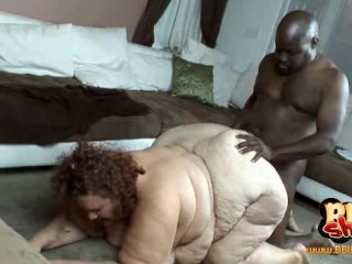 SSBBW Sweetcheeks fucked by black man