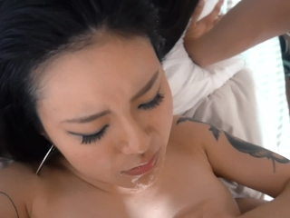 Asian chick got fucked by her ex for the first time in a while
