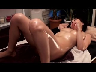 Gorgeous asian girl gets a massage that leads to hot and passionate fucking