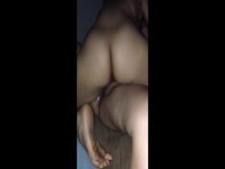 Wet close up tribbing