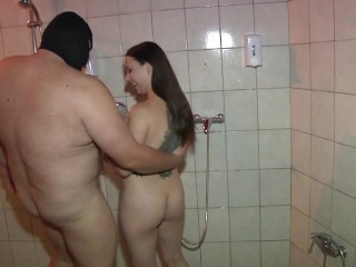 fat old mature couple and last minutes fat guy got bj