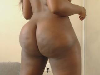 Big booty ebony goddess ass clapping sph joi