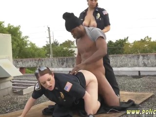 Police officer alanah rae xxx Break-In Attempt Suspect has to plow his