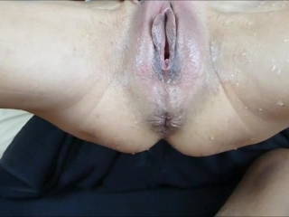 COME SO FAST IN MY MILF TEEN BODY CREAMPIE TIGHT PUSSY GETS SQUIRT ORGASM