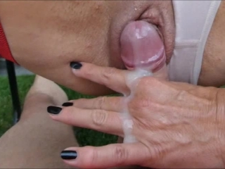 HE COMES VERY FAST IN MY TEEN BODY CREAM TIGHT PUSSY + GETS SQUIRT ORGASM