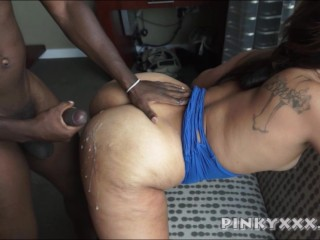Cum on the ass compilation Ebony edition