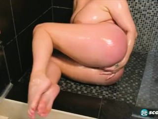 Big titted plump mom JOI and masturbation