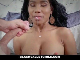 BlackValleyGirls – Hot Ebony Schoolgirl Sneaks Around For Sex