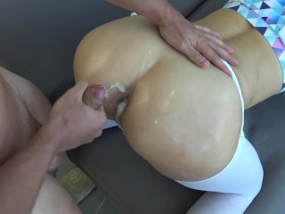 Sissy Porn – Breeding Anal Creampie. Cum in Ass. Get Stuffed. Cock and Cum.