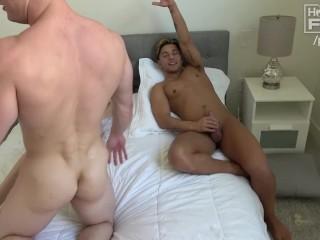 Bi Sex & Hot Teenage Girl FUCK each other. Big Cock ALERT.