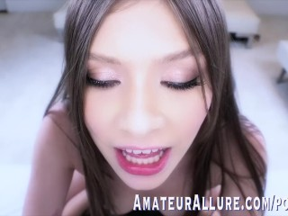 19 YR OLD WINTER JADE SUCKS COCK, GETS FUCKED IN AMATEUR ALLURE DEBUT