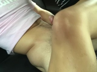 Lightskin rides dick and makes him bust creampie