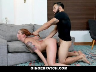 GingerPatch – Petite Redhead Gets Fucked By Muscle Cock