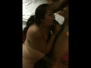 Mexican mom sucking dick