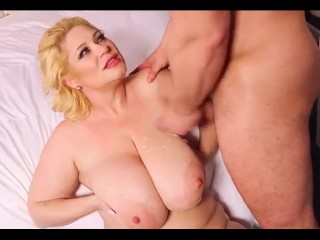 Five Minute Cumshot Compilation- Cum on BBW Tits