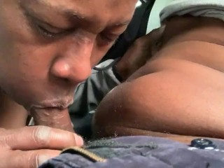 Butch Mom Blowjob & Swallow