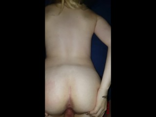 Dry fuck with cum on ass and pussy (Victoria Day)