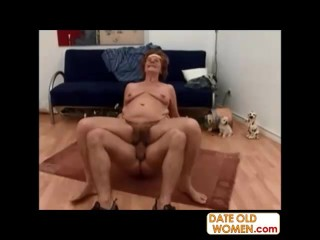 Hairy old pussy creampie videos
