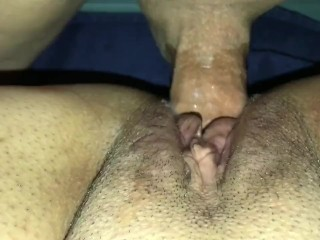 Fuck me, cum on my pussy, and creampie me!