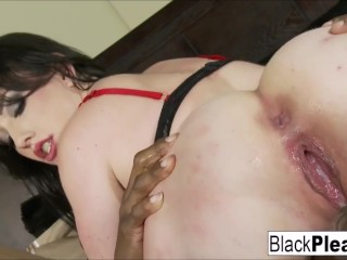 Black cocks cumming in white pussies compilation