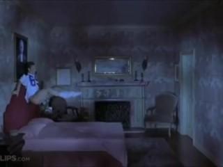 Ghost Fucks Redhead, Scene From Scary Movie 2 (Tori Spelling)