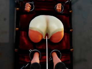 MMD SEX Three Wall Bound Torture Bitches