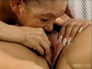 Horny Lesbians get a Grandpa Midget Surprise