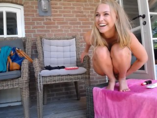 Girls4cock.com *** Teen Squirt For Her Dogs