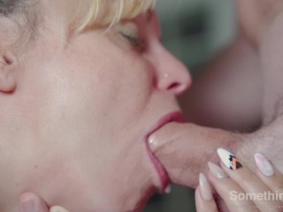 Pulsating oral creampie, I swallow it all when throbbing – 4K