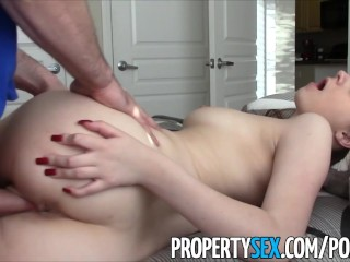 PropertySex – Young real estate agent fucking in condo homemade sex