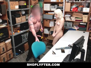ShopLyfter -Blonde Teen Gets Caught Stealing And Fucked