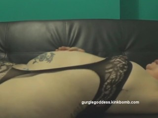 Big Fat Farts from My Big Fat Ass in Black Lingerie