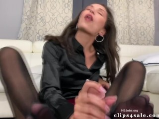 Lawyer Ari Parker First Stockings Footjob
