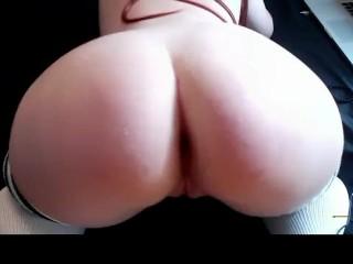 Cute Redhead Teen Huge Cucumber Anal Masturbation Webcam