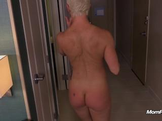 Busty freaky MILFs first porn