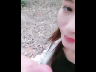 Chinese Cam Girl 刘婷 LiuTing – Outdoor Sex 02