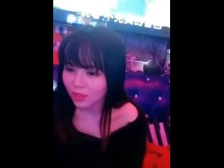 Busty Chinese Teen Fucked in KTV