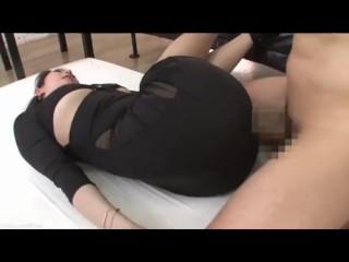 ASIAN GIRL FUCKED THROUGH CLOTHES (ROUND5)