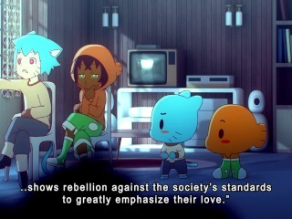 Amazing World of Gumball lesbian sex – by Manyakis