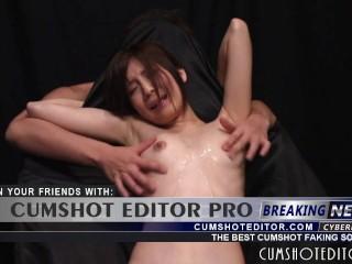 Submissive Japanese Teen Nipple Play
