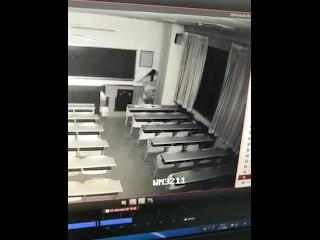 chinese CHD教室监控流出