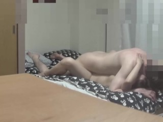American guy cums in Japanese MILF