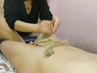 chinese nylon footjob