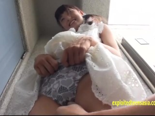 Petite Asami Tsuchiya, Shuna Kagami Play With There Pussies And Piss