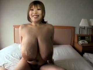 Japanese MILF With HUGE TITS Getting Fucked