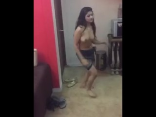 Indian desi randi girl dancing naked part 2