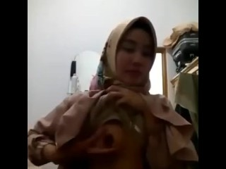 VCS With Indonesian Sweet Hijab Girl [REUPLOAD]