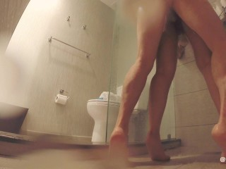 """CREAMIN HER WHILE SHE SQUIRTS! & SHOWER """"YES DADDY, I'M YOUR SLAVE DADDY!"""""""